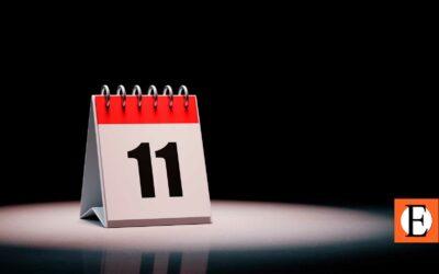 El 11 es un número primo y un mes poderoso