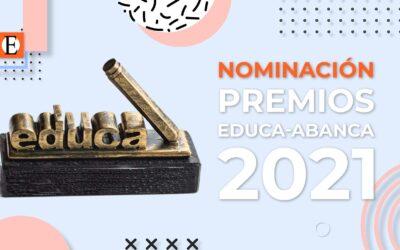 Nominación a los Premios Educa-Abanca 2021